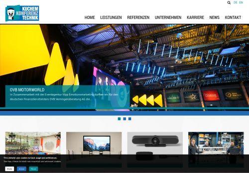 Kuchem Konferenz Technik Info